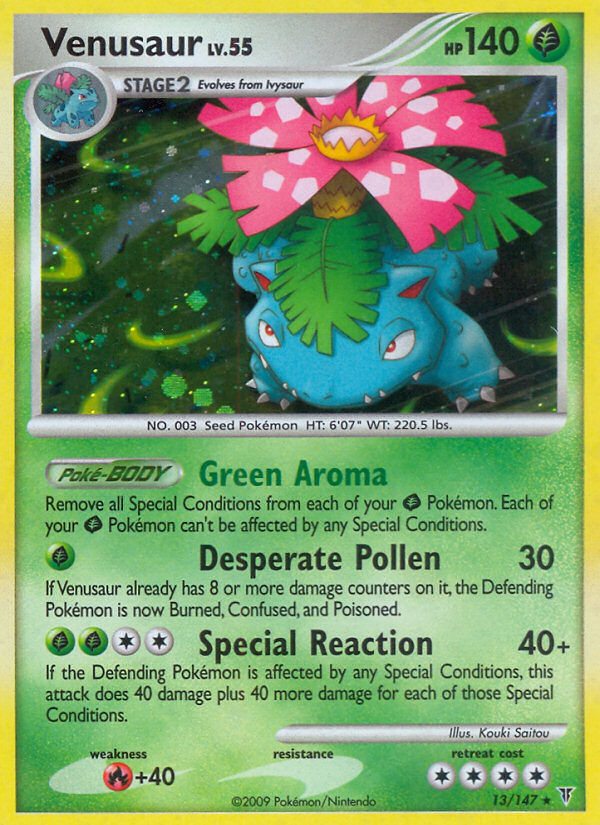 Venusaur Supreme Victors SV 13 Pokemon Card
