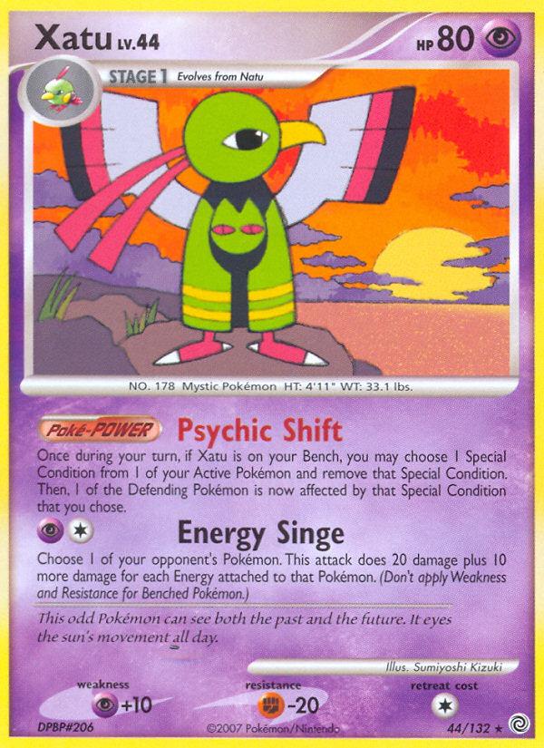 Xatu Secret Wonders SW 44 Pokemon Card