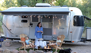 Club Members and members of Harvest Host can camp at Six Sigma Ranch