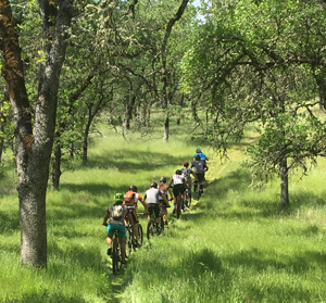 High School Mountain Bikers at Six Sigma Ranch