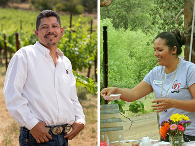 Fernando Martinez and Maria Hernandez
