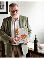 Kaj Ahlmann with Janet Fletcher's Book