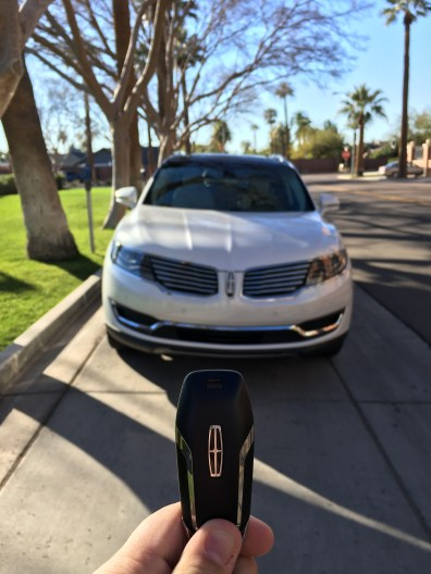 My first Lincoln - it was an exciting day to take the keys!