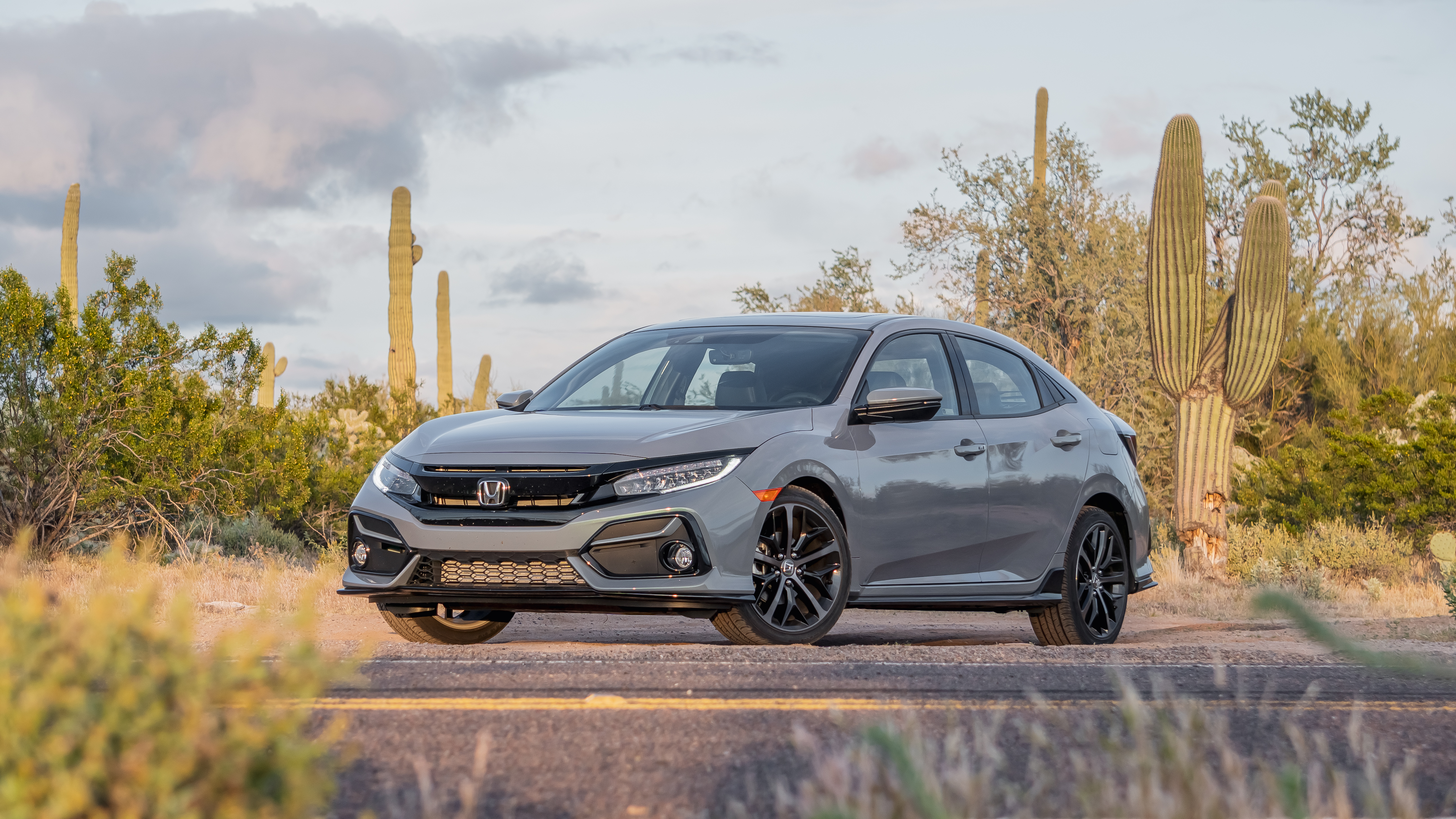 Ever since the honda civic entered the us market in 1973, both the hatchback or sedan models offered an automatic or a manual transmission. Just Right 2020 Honda Civic Hatchback Sport Touring Six Speed Blog