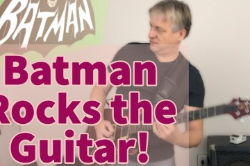 Batman Rocks the Guitar!