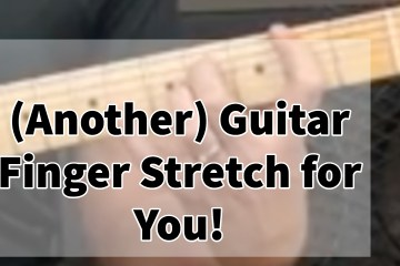 Guitar Finger Exercise Stretching