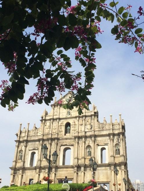 Macau - Ruins of Saint Paul
