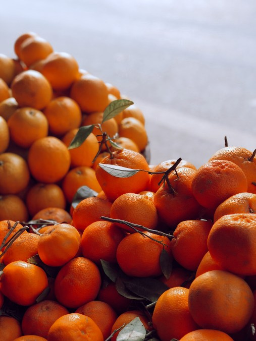 save money and the planet- give fruit away instead of candy