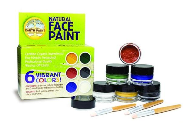 save money and the planet- make or buy healthy face paint