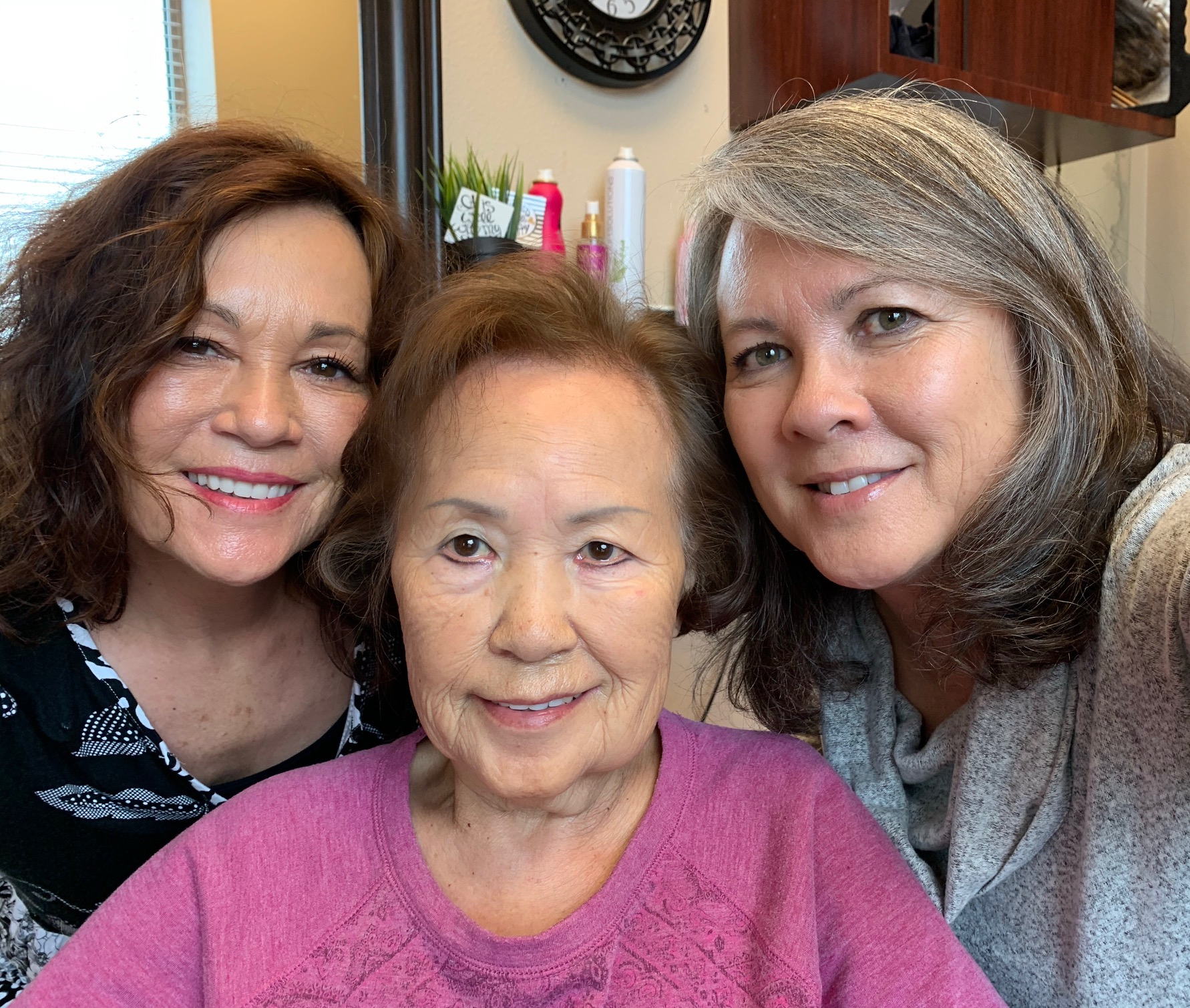 Marie, Mom & I