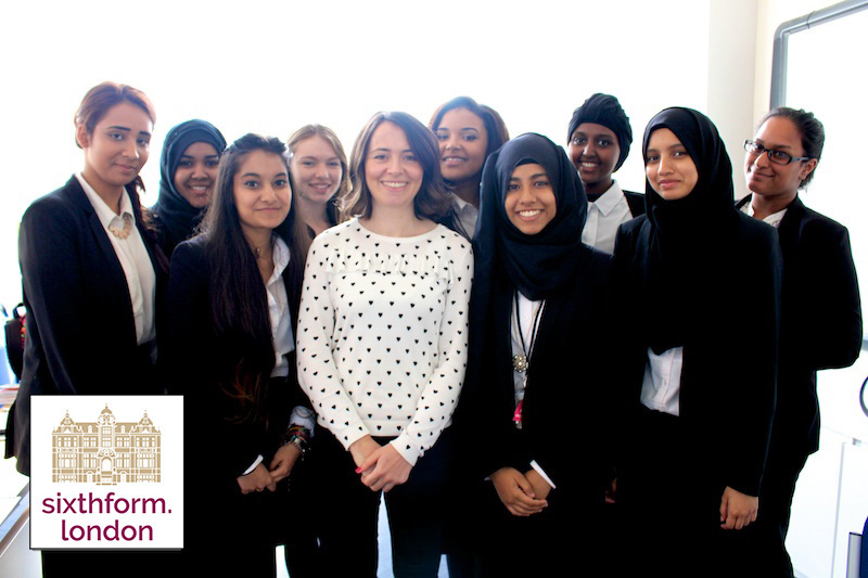 Absolute Radio's Annabel Port Meets NCS students