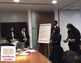 Newham Collegiate Sixth Form Centre (The NCS) Students Attend A Careers Insight Day At Deloitte