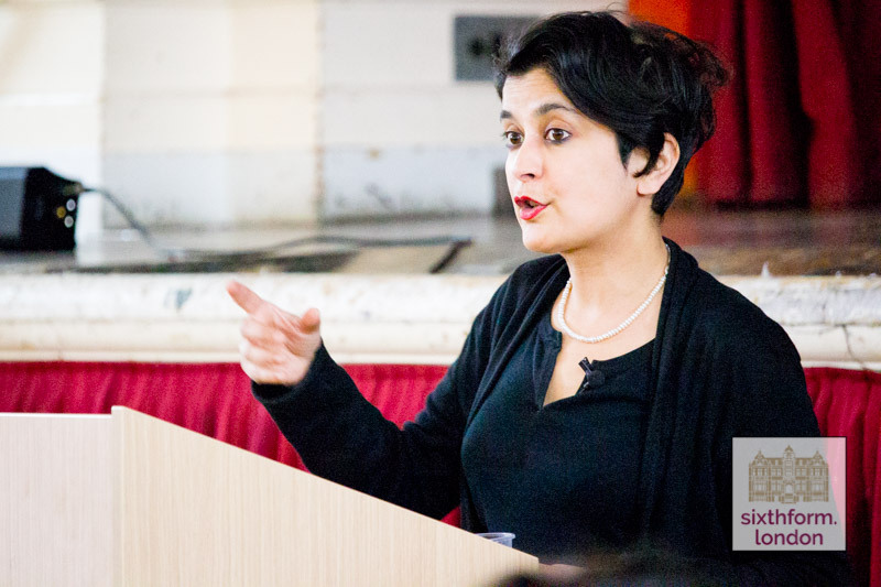 Shami Chakrabarti Visits Newham Collegiate Sixth Form Centre (The NCS) To Meet And Talk With Students