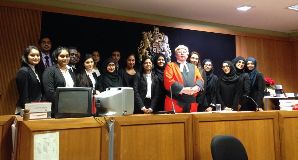 Newham Collegiate Sixth Form Center (The NCS) Makes The Final At The London Bar Mock Trial