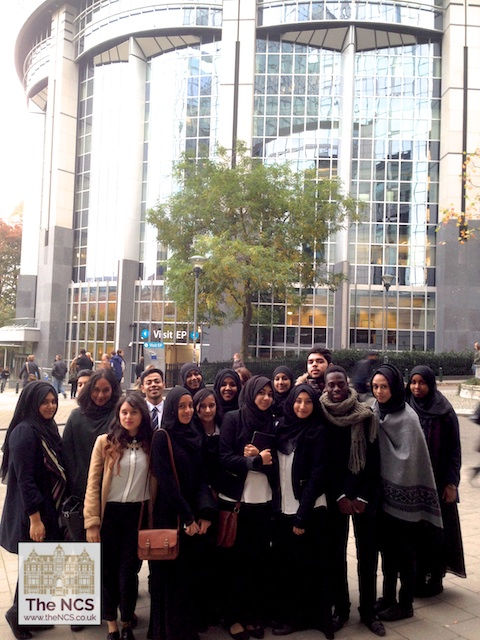 Newham Collegiate Sixth Form Centre (The NCS) Students Learn About The EU In Brussels