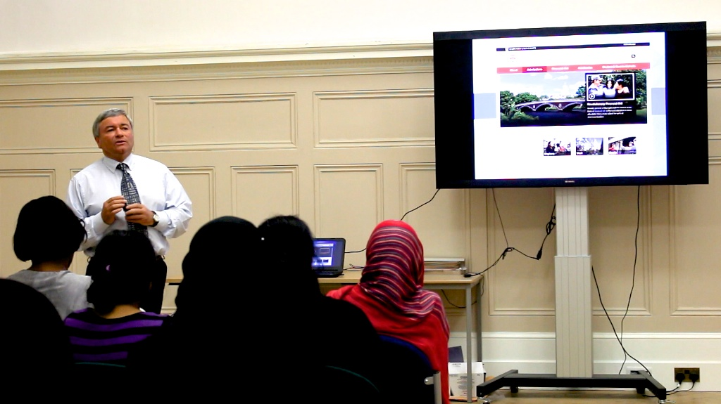 Harvard University Visit Newham Collegiate Sixth Form Centre (The NCS) In London