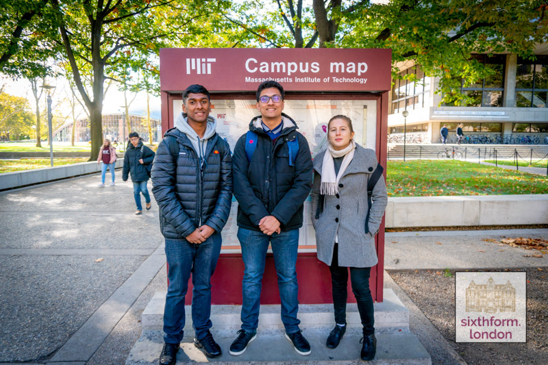 Newham Collegiate Sixth Form Centre (The NCS) Students Visit MIT As Part Of Our Ivy League Preparation