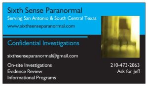 Sixth Sense Paranormal - New cards, new look, new focus
