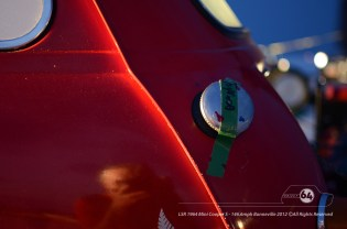 A new tank of fuel—the Mini is proving pretty economical. Photo by Mike Wilson ©2012. All Rights Reserved.