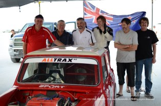 A happy crew after the record is made official. Photo by Mike Wilson ©2012. All Rights Reserved.