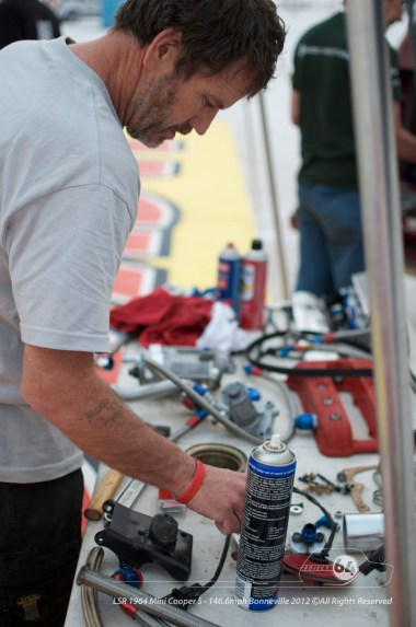 Not the best setup for a rebuild. Photo by Mike Wilson ©2012. All Rights Reserved.