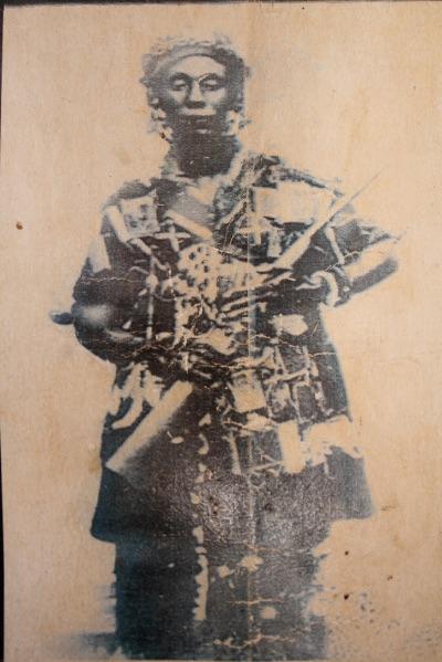 Image: Historic photo of QueenMother Yaa Asantewaa.