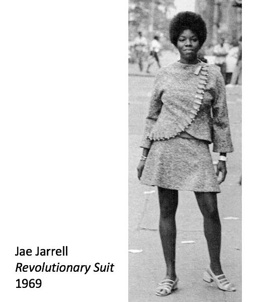 Image: Jae Jarrell, Revolutionary Suit, 1969.