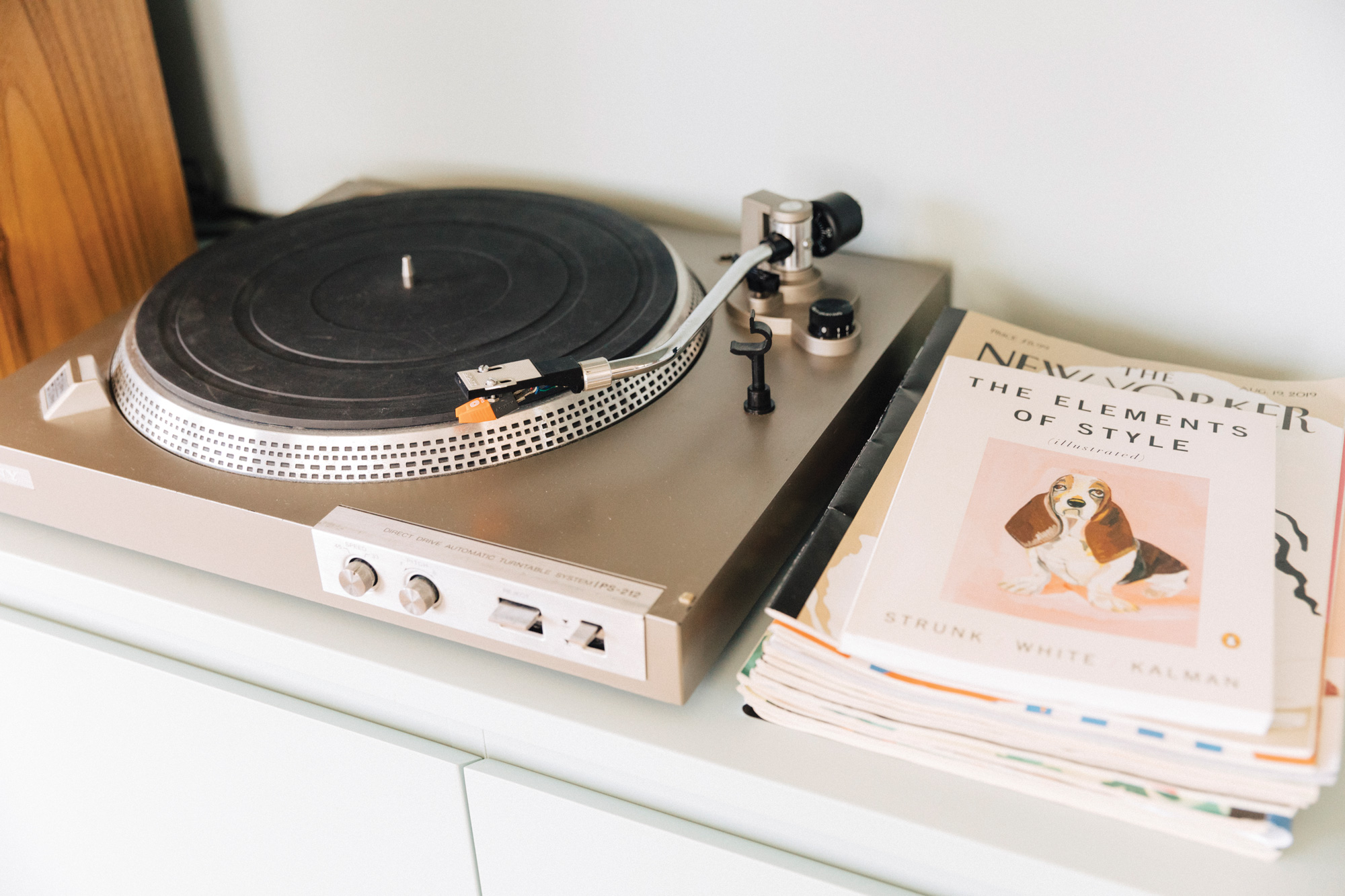 sixtysix roanne adams home record player