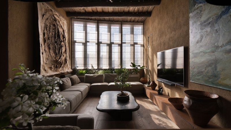 Sergey Makhno's Ukranian penthouse apartment is outstanding