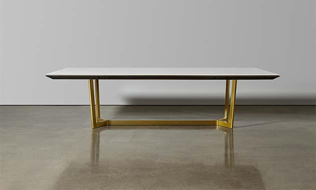 Halo table by Halcon. Sixtysix magazine.