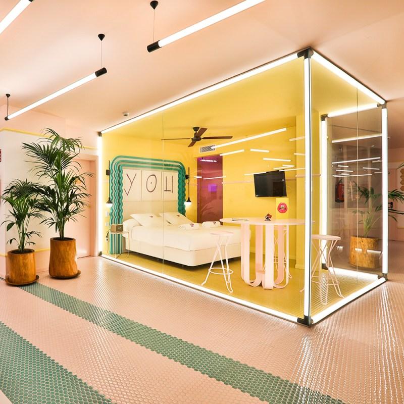 "Step Inside Paradiso Ibiza, a Retro-Chic ""Art Hotel"" on the Mediterranean"