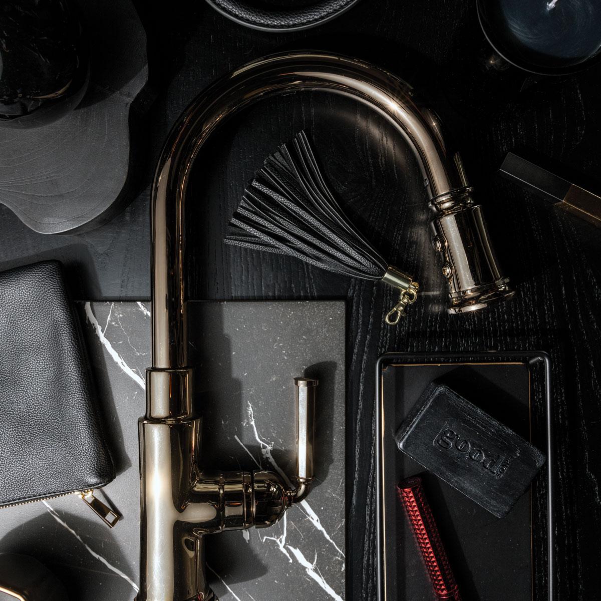 brizo s new rook kitchen collection styled 3 ways sixtysix magazine
