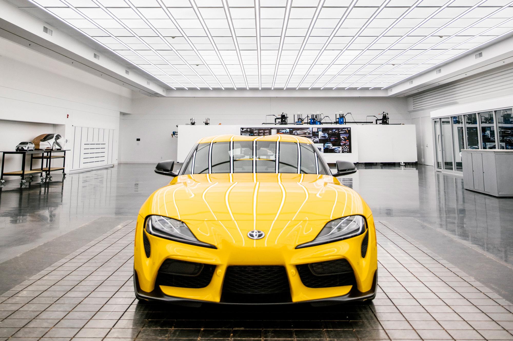 sixtysix mag toyota supra 2020 yellow
