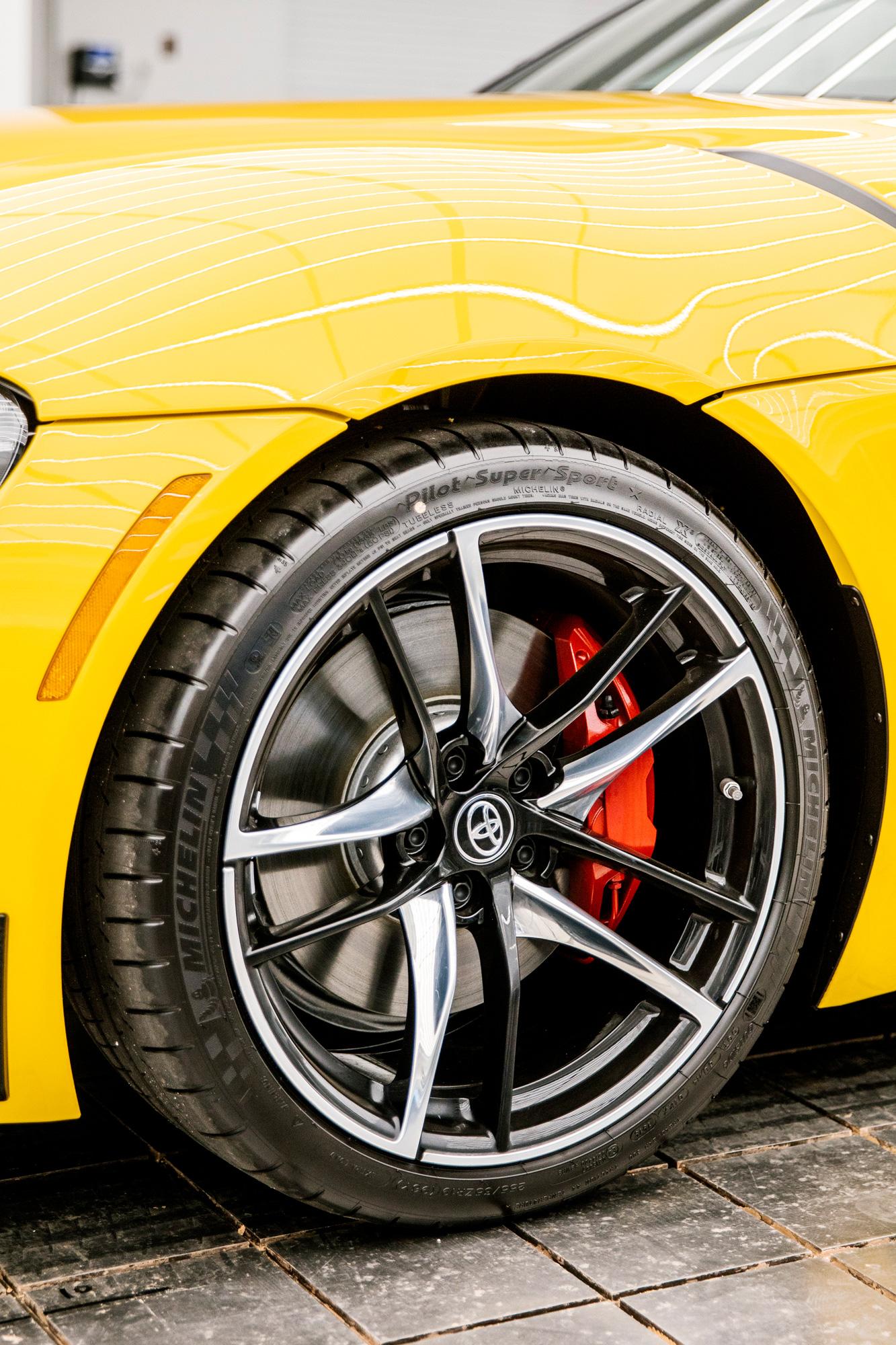 sixtysix mag toyota supra wheel