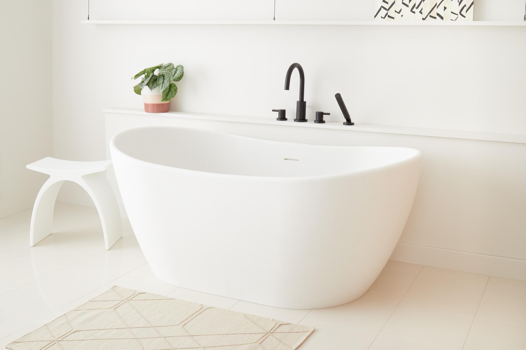 sixtysix signature hardware lagom tub