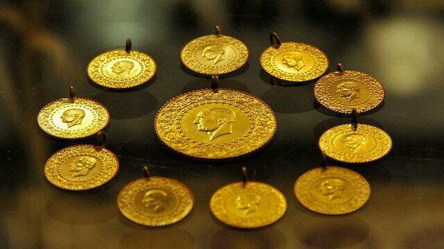 Kapalıçarşı'da çeyrek altın 779 liraya geriledi