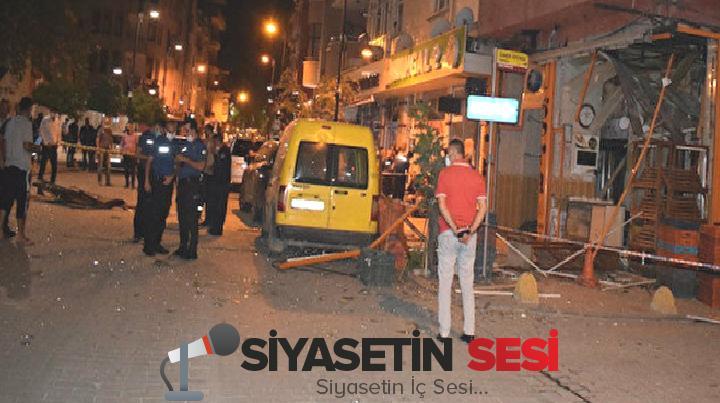 Malatya'da ekmek fırını bomba üzere patladı: ortalık savaş alanına döndü