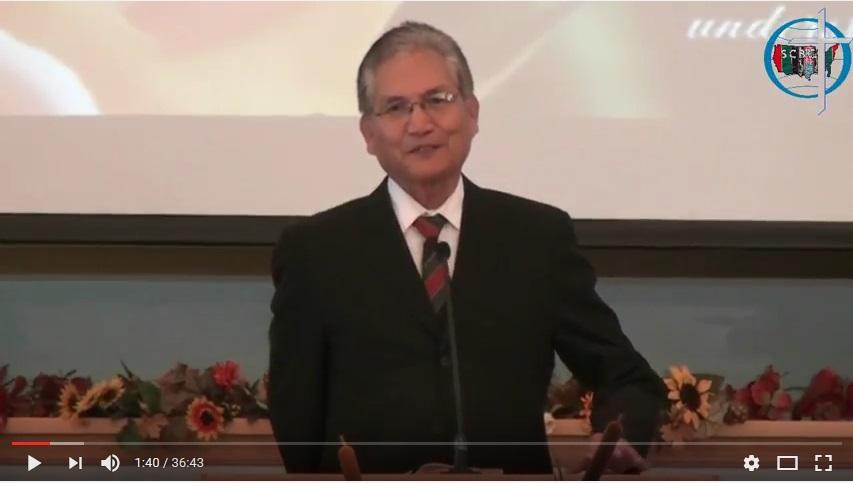 Bible Study – Rev. Timothy Kam Suan Mang