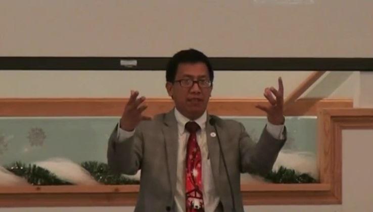 Kumthak Hunzakna – Rev. Dr. Thuam Cin Khai