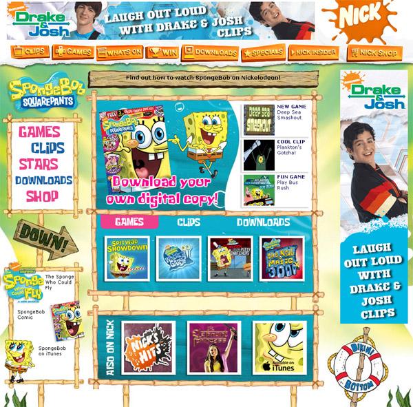 nick.co.uk/spongebob