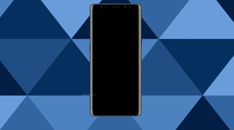 Samsung Galaxy Note 8 Screen