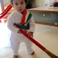 My Swacchha Little boy
