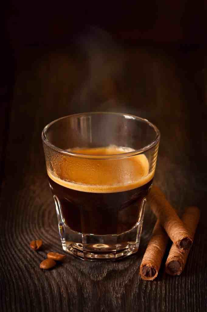 Espresso shot  Espresso espresso P3VSFDV