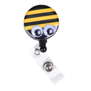Bumble Bee Badge Reel Retractable ID Badge Holder: Featured Image