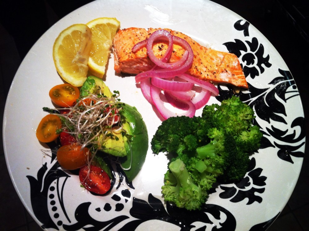 Easiest Salmon you will EVER Make!! (2/3)