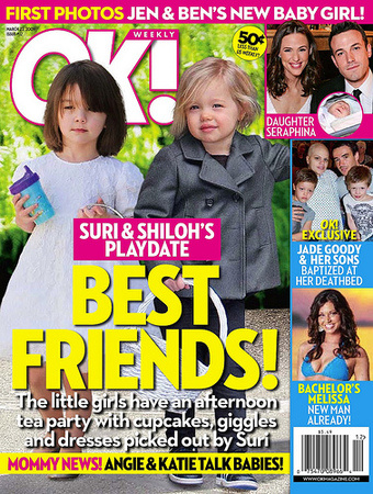 Suri and Shiloh: NOT ACTUALLY TOGETHER!