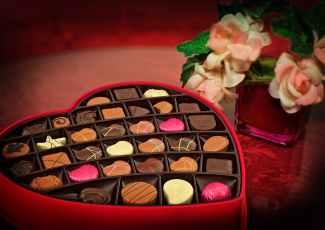 Display of Yummy Chocolates