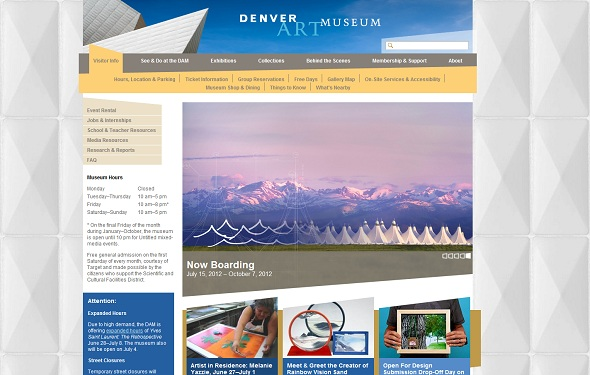 16 Denver art museum - 40 Best Websites of Museums Quotes For Your Inspiration