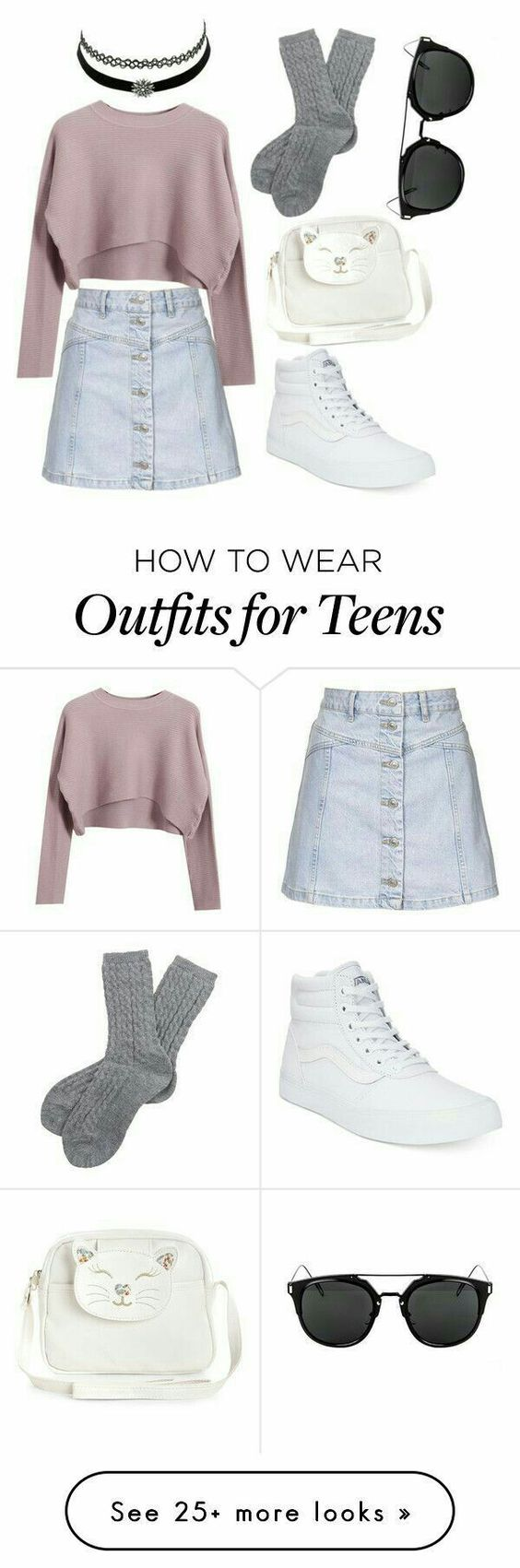 teen outfits 09 sizzlingmagazine - 15+ Cute Outfit Ideas for Teen Girls 2018 – Teenage outfits for School