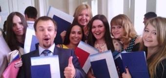 Дина Гарипова стала дипломированным журналистом